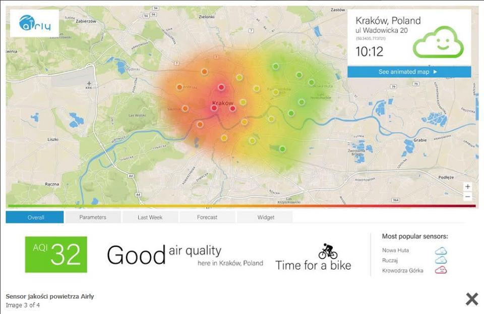 Precyzyjna Mapa Zanieczyszczen Powierza Dostepna W Wersji Mobilnej