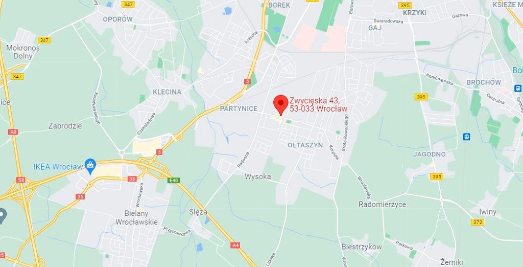Wrocław - policja poszukuje mężczyzny, który zbiegł przy próbie zatrzymania