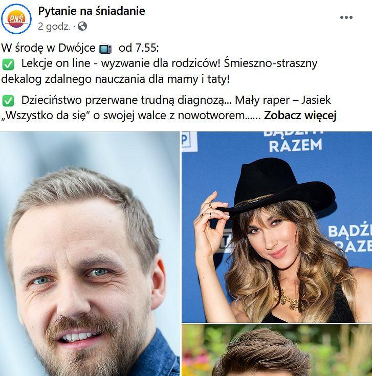 'Pytanie na śniadanie', Paweł Domagała