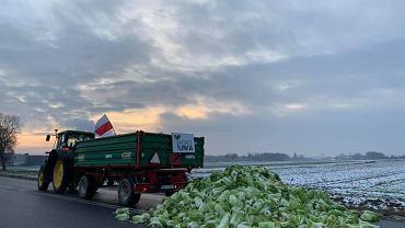 Trwa agroprotest. Rolnicy blokują liczne drogi