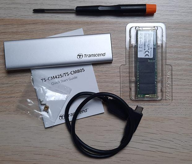 Dysk SSD firmy  Transcend