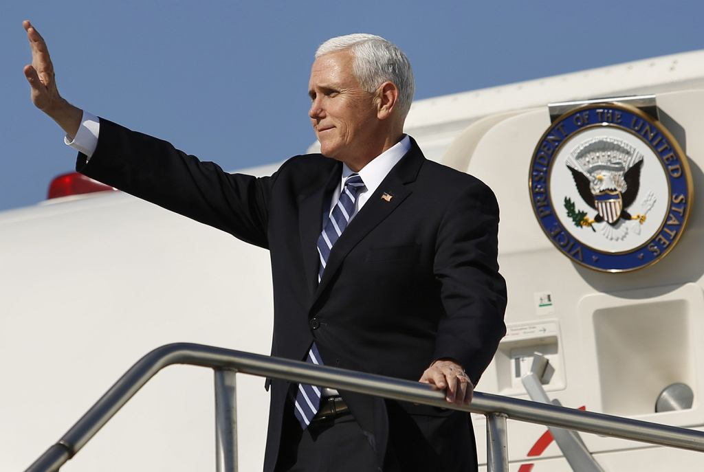 Wiceprezydent Mike Pence