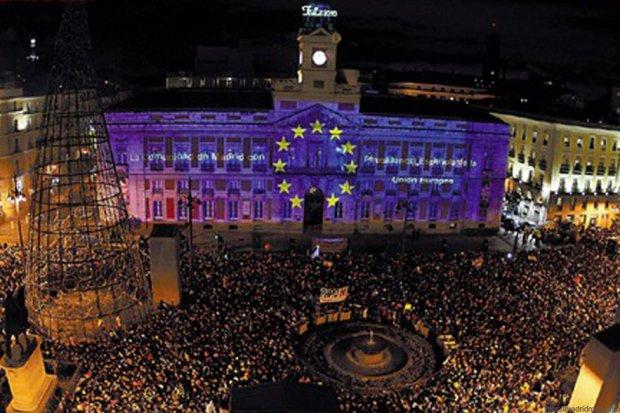 Sylwester w Madrycie, Puerta del Sol/ Fot. workbreaktravel.com/