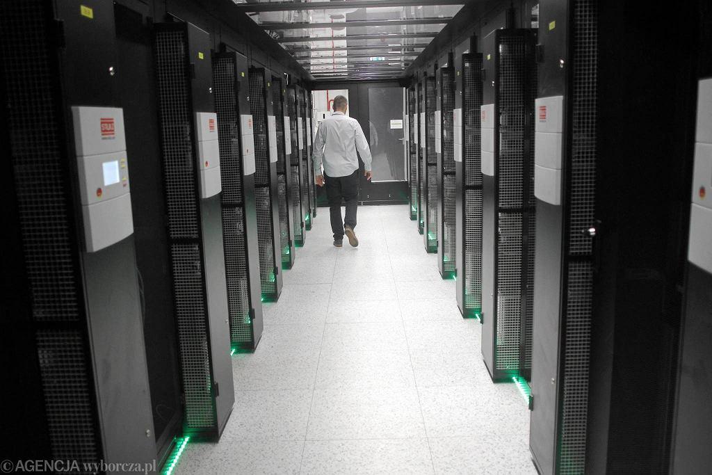 Centrum Technologii ICM UW . Najwiekszy komputer do analiz Big Data w Polsce