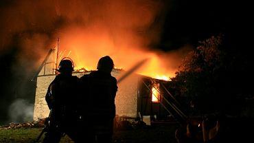 Pożar / Zdjęcie ilustracyjne