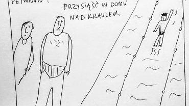 Rysunek pochodzi z profilu Dzieckiem po Oczach autorstwa Marcina Drzazgi