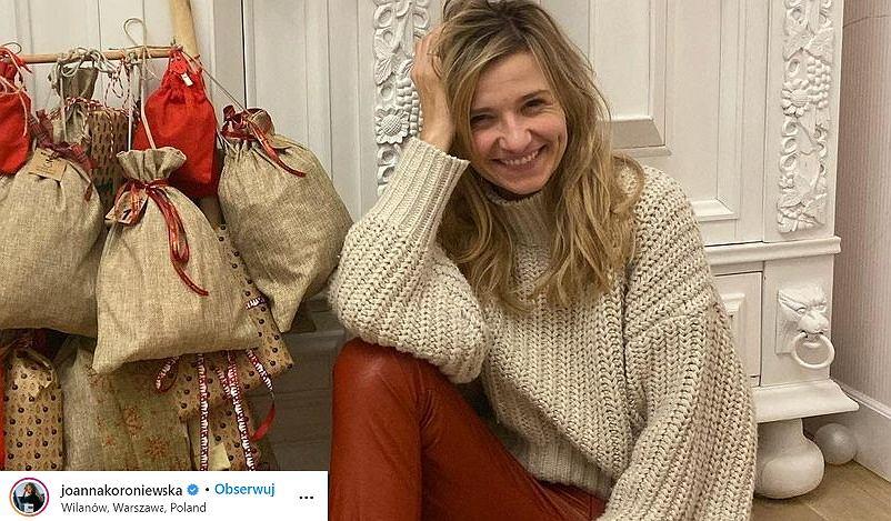 Joanna Koroniewska pokazała się w modnej sukience polskiej marki. Kosztuje mniej niż 70 zł! Wiemy, gdzie ją kupić