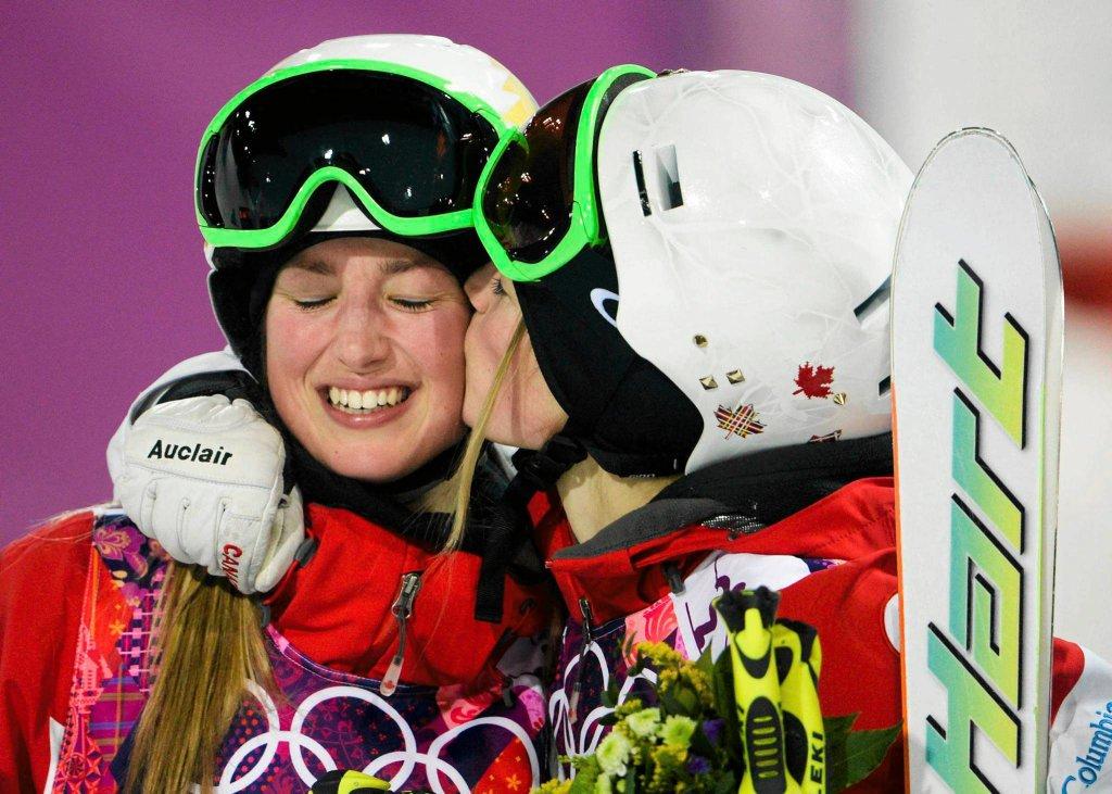 Od lewej: Chloe Dufour-Lapointe i Justine Dufour-Lapointe
