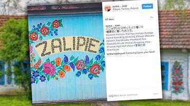 Zalipie - najbardziej kolorowa wieś w Polsce