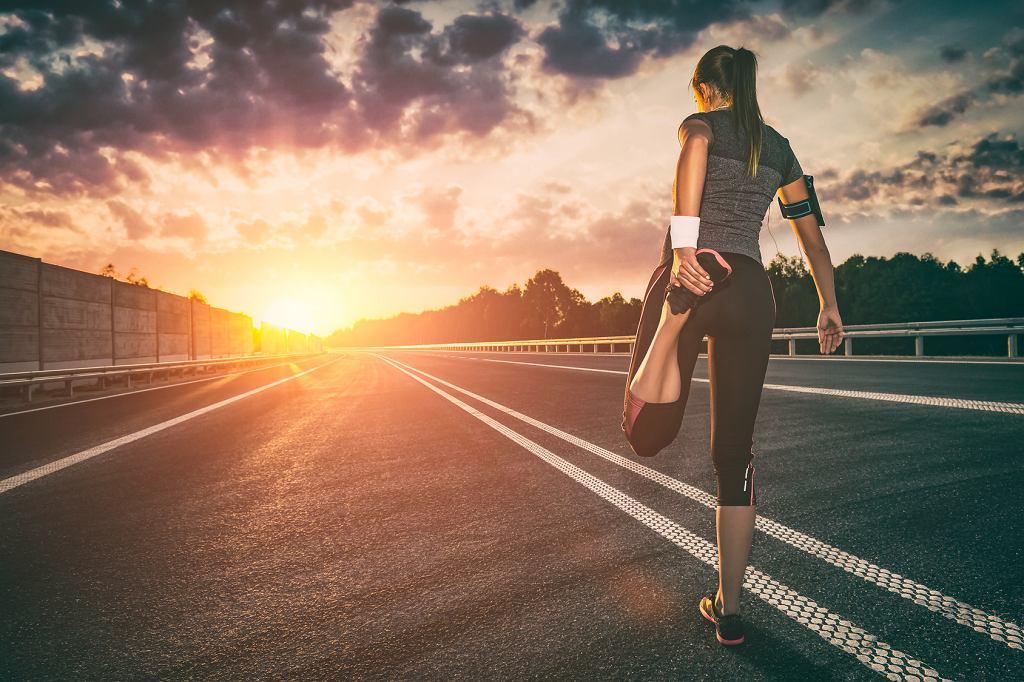 Bieganie po zmroku