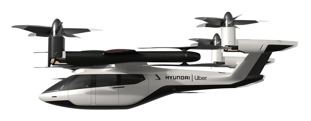PAV, projekt latającej taksówki firmy Uber i Hyundai