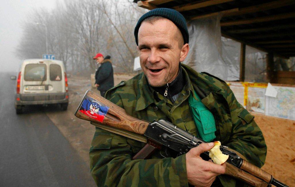 Prorosyjscy separatyści na wschodniej Ukrainie