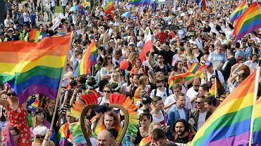 Warszawska Parada Równości, czerwiec 2018