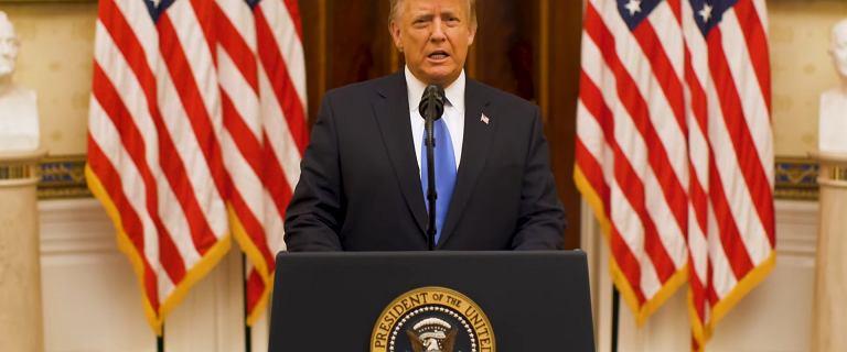 Donald Trump w pożegnalnym przemówieniu. Wspomniał o Polsce