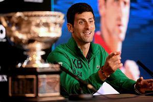 """Djoković wskazał najlepszego tenisistę wszech czasów. """"Ludzie go uwielbiają"""""""