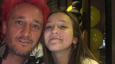 Córka Michała Wiśniewskiego przefarbowała się na niebiesko