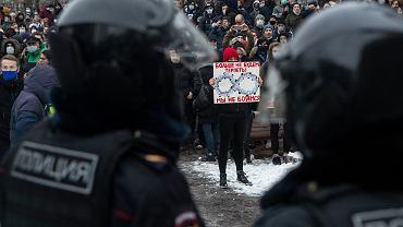 Rosja. Protesty w Moskwie. Śledczy wszczęli sprawy karne w sprawie ataku na policję