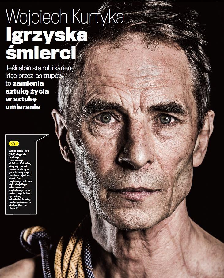 Rozmowa z Wojciechem Kurtyką w czwartek 15 maja w ''Dużym Formacie''
