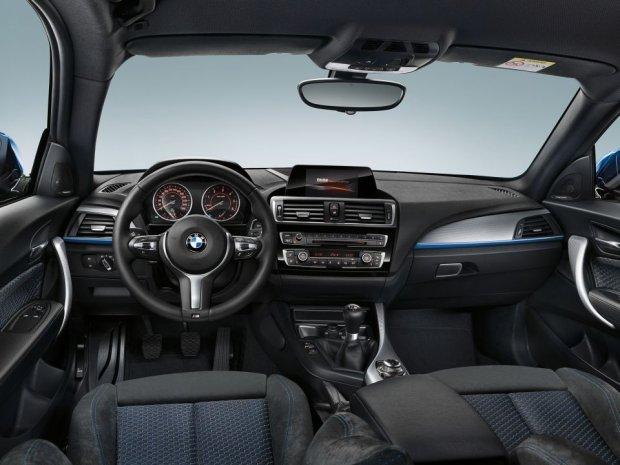 BMW serii 1 - wnętrze