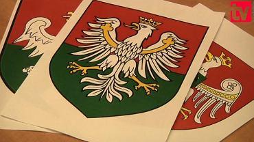 Jedna z wersji herbu Zagłębia Dąbrowskiego