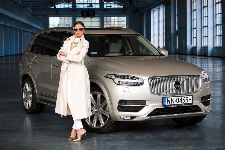 Justyna i Volvo XC90