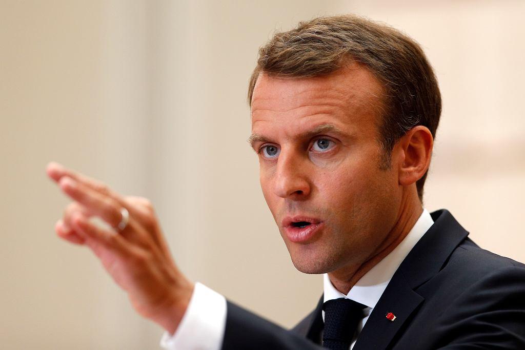 Emmanuel Macron wydał oświadczenie w sprawie śmierci Maurice'a Audina, a także złożył wizytę wdowie po nim