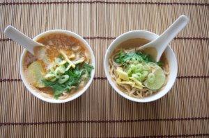 Rozgrzewająca zupa z pancerzyków krewetek