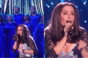 Anna Dereszowska jako Cher w programie 'Twoja Twarz Brzmi Znajomo'