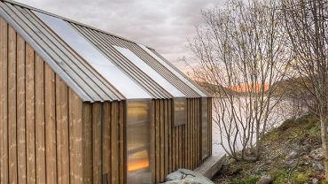Drewniana elewacja domu