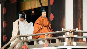 Ceremonia abdykacji cesarza Japonii Akihito