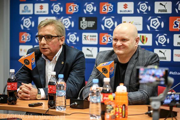 """Prezes Korony Kielce odpowiedział Mateuszowi Borkowi. """"O spadku nie zdecydowała forma sportowa"""""""