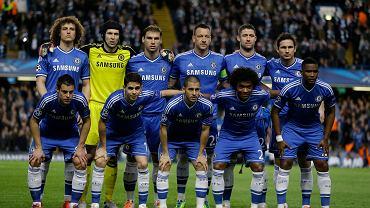 Podstawowy skład Chelsea przed rewanżem z PSG. Zawodnicy nie wiedzą jeszcze, że za 90 minut będą się cieszyć z awansu