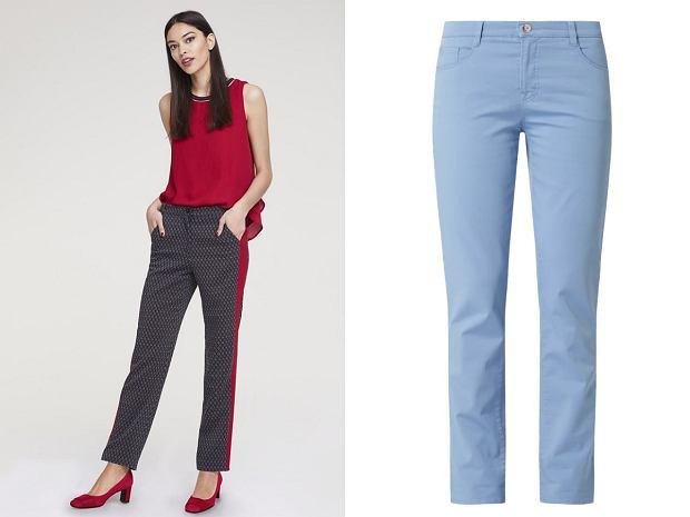 Spodnie dla niskiej kobiety
