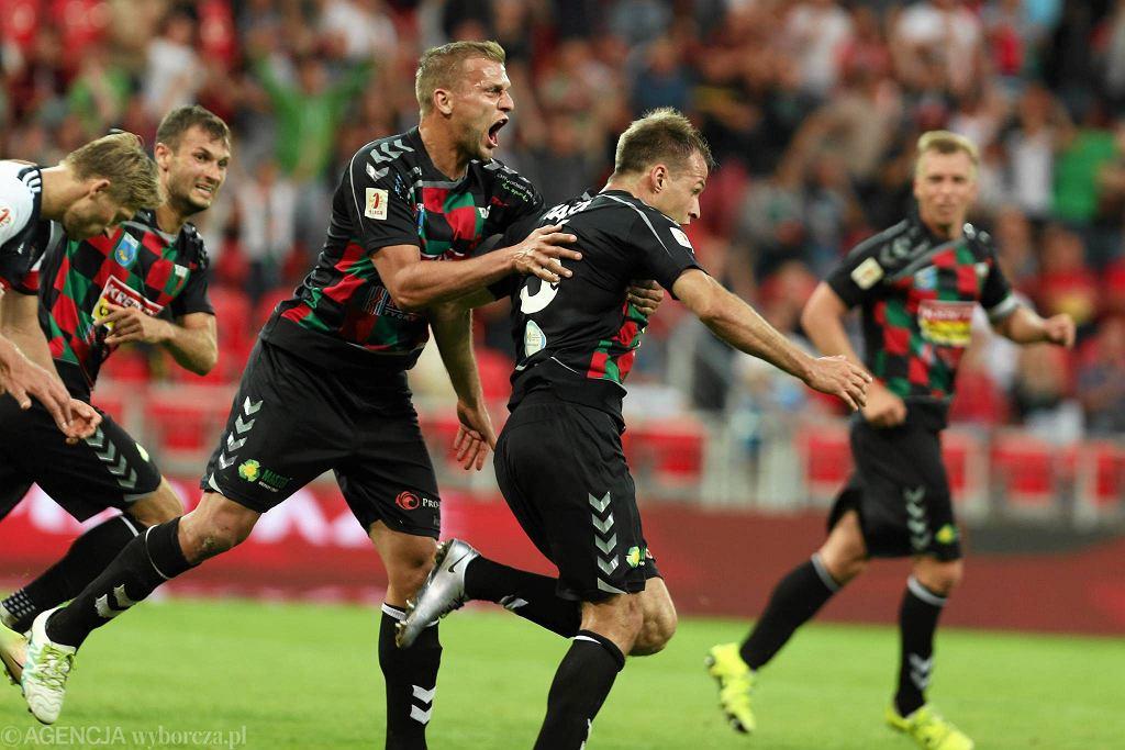 Maciej Mańka strzelił decydującą bramkę w meczy z Górnikiem Zabrze