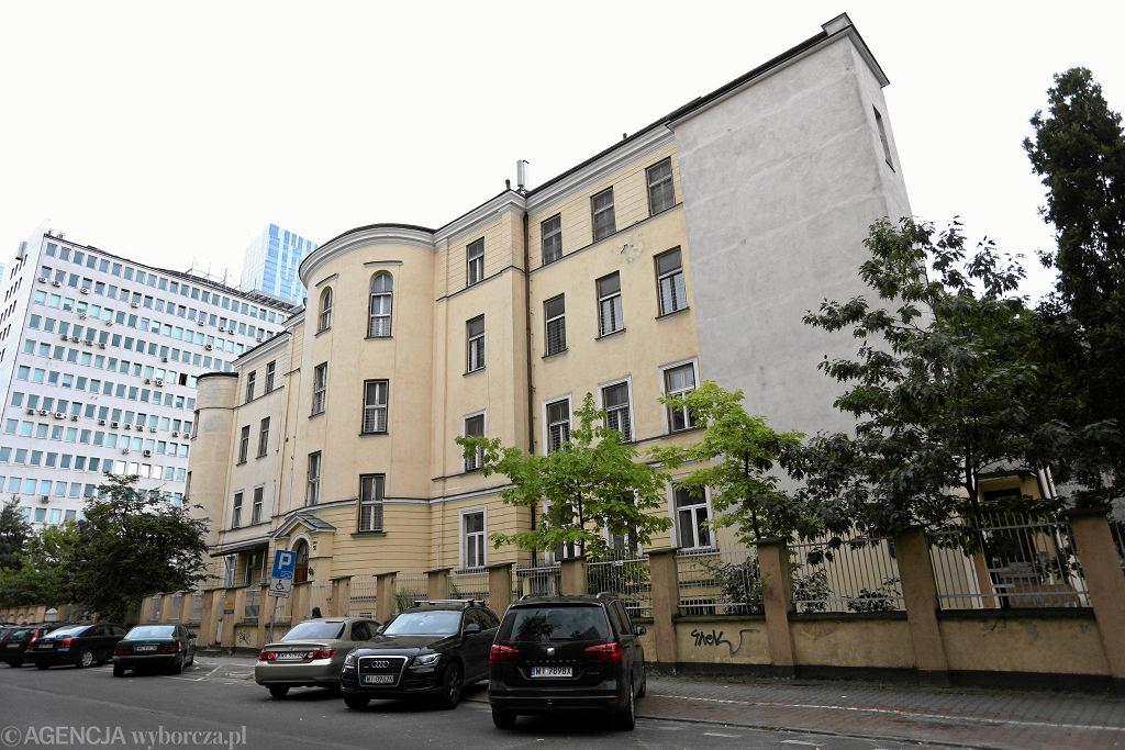Gmach główny Szpitala Dziecięcego im. Bersohnów i Baumanów przy ul. Siennej i Śliskiej