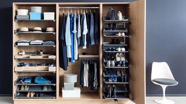 Organizacja przechowywania w szafie