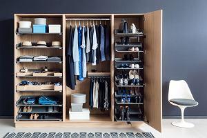 Szafy: dobrze zorganizowane przechowywanie