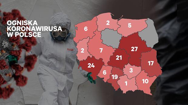 Koronawirus W Polsce Przypadki Zakazen Mozna Sprawdzic Na