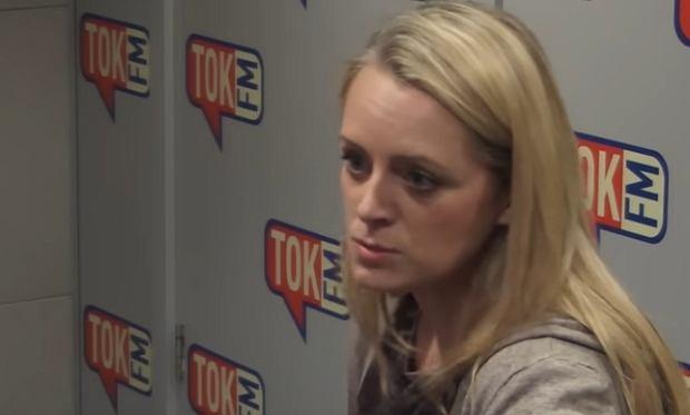 Mec. Natalia Klima-Piotrowska w 'Poranku Radia TOK FM'