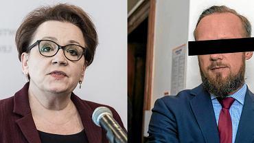 Anna Zalewska i Jerzy G. Do momentu ujawnienia afery w PCK należał do jej najbliższych współpracowników. Prowadził jej kampanię wyborczą, był członkiem kierowanego przez nią zarządu wałbrzyskiego PiS