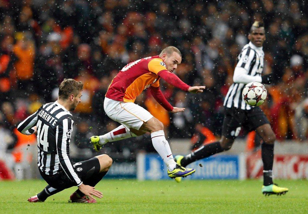 Pomocnik Galatasaray Wesley Sneijder