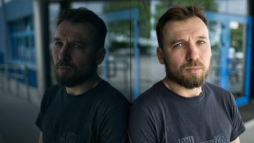 Tomasz Dziemianczuk z Greenpeace