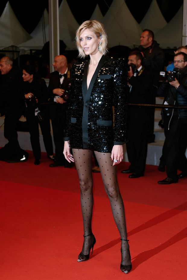 Anja Rubik attends the screening of Lux Aeterna during the 72nd annual Cannes Film Festival on May 18, 2019 in Cannes, France//03HAEDRICHJM_013JMH/1905190535