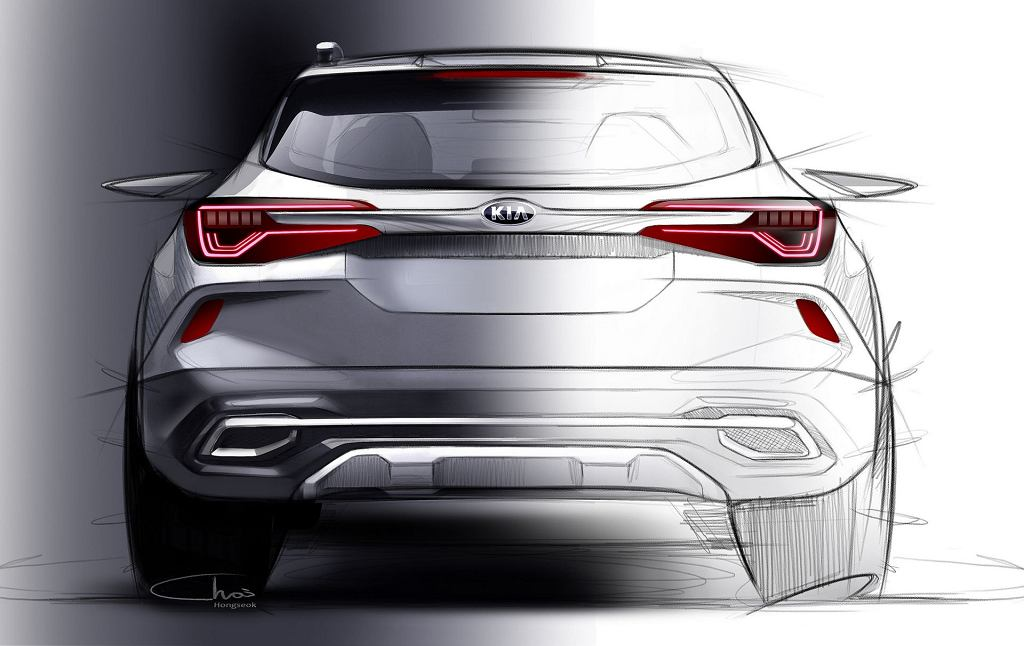 Teaser nowego małego SUV-a Kii