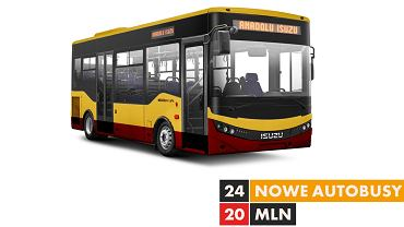 Minibusy Isuzu dla MPK Łódź