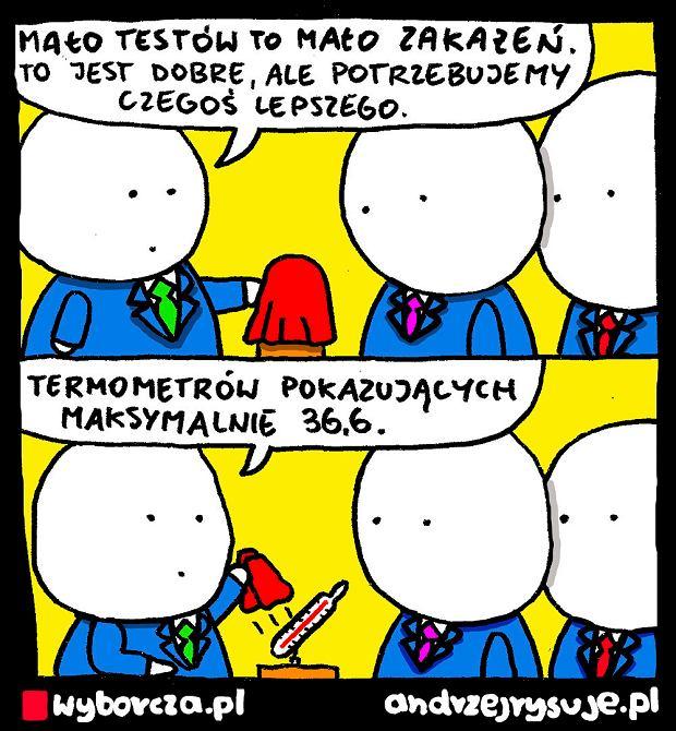 Andrzej Rysuje | TERMOMETR - Andrzej Rysuje | 15 kwietnia 2020 -