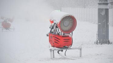 W Beskidach czekają na mróz, aby uruchomić armatki śnieżne