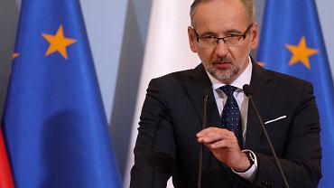 Minister zdrowie w rządzie PiS Adam Niedzielski
