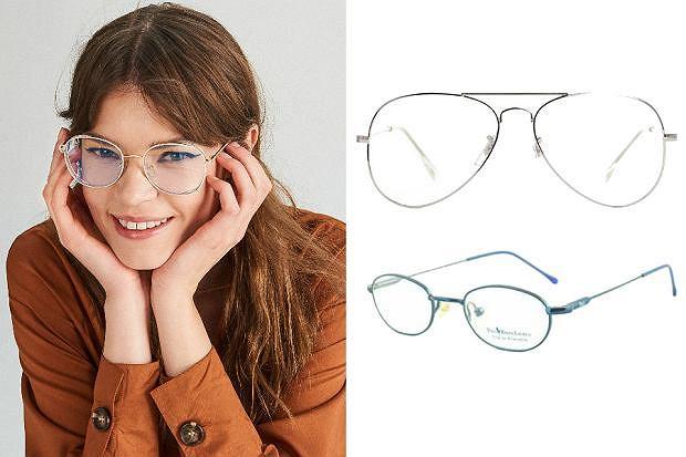 Kolaż / Modne okulary korekcyjne 2019
