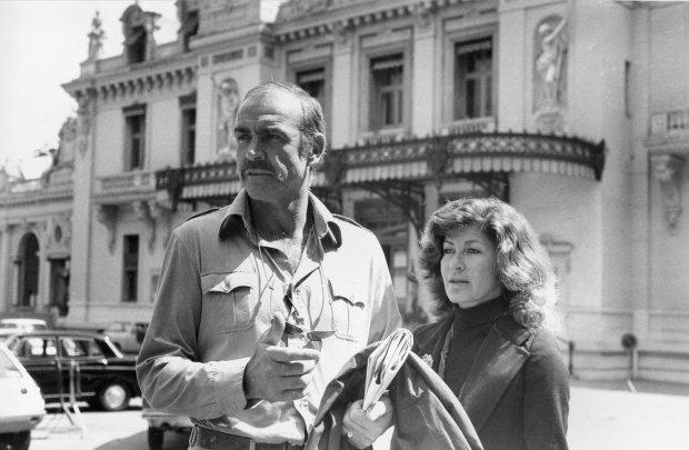 Sean Connery i Micheline Roquebrune